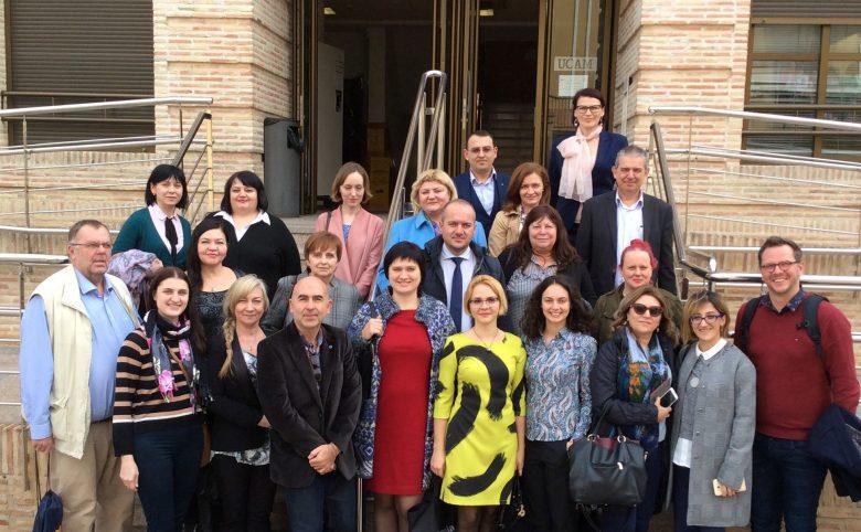 Reuniunea consorțiului proiectului SMART la UCAM