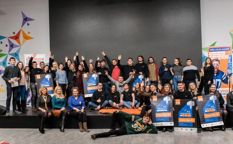 25 de studenți și-au ridicat Pașaportul de Startup-er, marca Yep!Moldova
