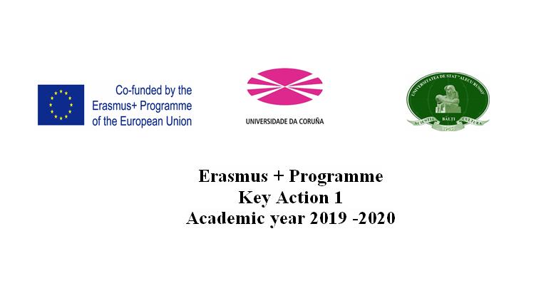 Erasmus + Programme. Mobilități cadre didactice și personal administrativ
