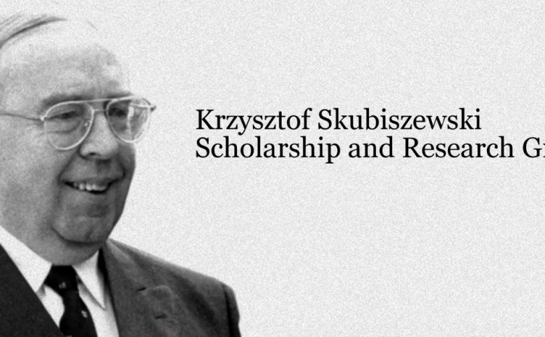 Burse pentru activități de cercetare 2019 oferite de fundaía Krzysztof Skubiszewski