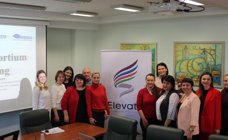 Reuniunea a treia a consorțiului proiectului ELEVATE