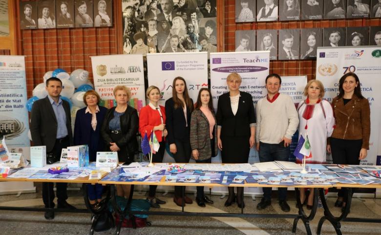 TÂRGUL PROIECTELOR ERASMUS+, EDIȚIA A III-A,  PREZENTAT LA ZIUA EUROPEI 2019
