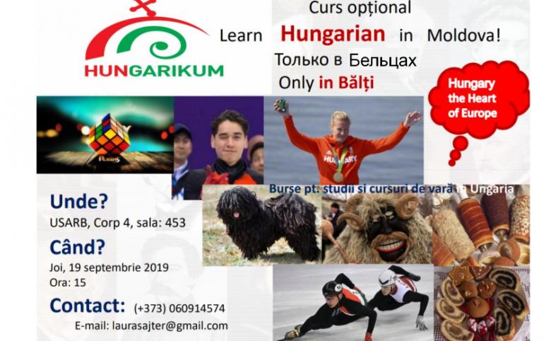 CURS OPȚIONAL DE LIMBĂ MAGHIARĂ