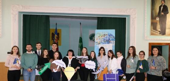 """Evenimentul """"Erasmus+ Q&A"""" organizat pentru studeníi USARB"""