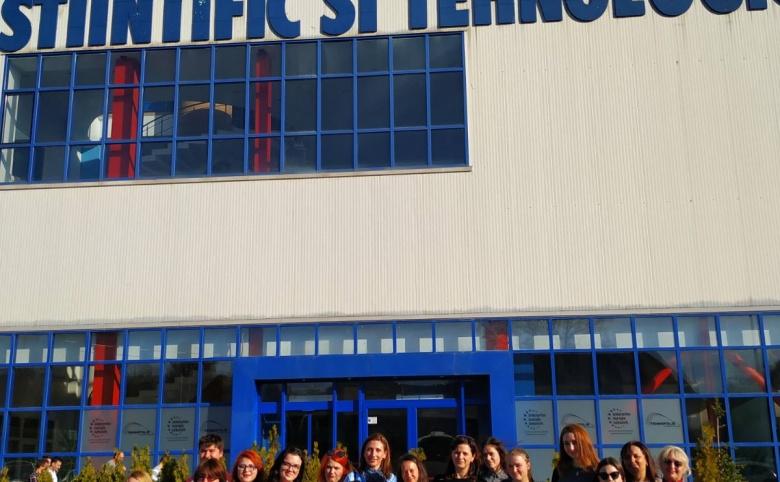 O vizită de studiu la Parcul Ştiinţific şi Tehnologic Tehnopolis din Iași, România