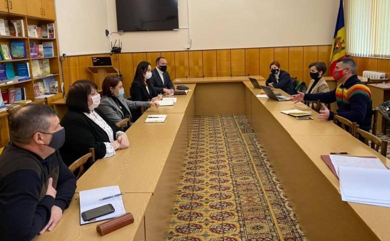 Întâlnirea administrației USARB cu partenrii