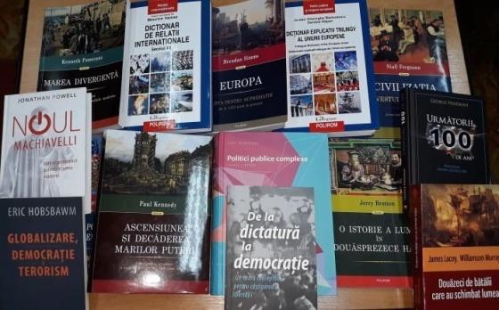 Ambasada Republicii Lituania în Moldova a donat un lot de carte studenților și colaboratorilor USARB
