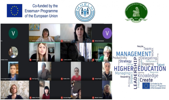 Prezentarea rezultatelor obținute în cadrul proiectelor MHELM  în cadrul Zilelor Europei în USARB