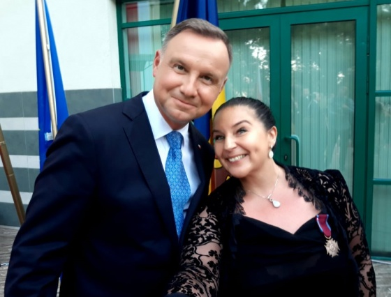 Felicitări doamnei dr. Kinga Piątkowska