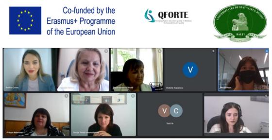 Reprezentanții USARB a participat la cea de-a doua reuniune a consorțiului proiectului QFORTE