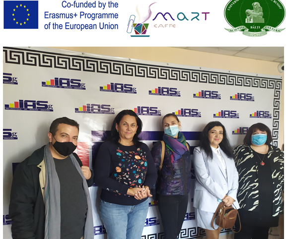 Vizita reprezentanților consorțiului proiectului SMARTla Incubatorul de afaceri Sîngerei