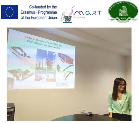 Vizita reprezentanților consorțiului proiectului SMARTla Zona Economică Liberă Bălți