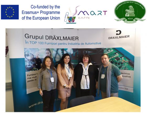 Vizita reprezentanților consorțiului proiectului SMART la compania germană Draexlmaier
